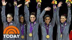 Simone Biles, Gabby Douglas Prepare For Olympic Trials Ahead Of Rio | TODAY