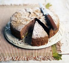 Country apple cake. Good Food reader, Magdalena Duggan, shares her grandmother's spiced chocolate sponge packed with fruit from the garden