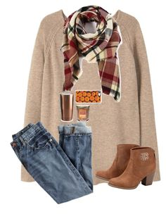 """""""Pumpkin spice and everything pumpkin"""" by preppy-dreamer ❤ liked on Polyvore featuring Violeta by Mango, J.Crew, Asobu, Yankee Candle and Casetify"""