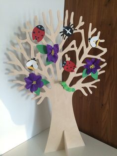 Seizoensboom zomer, beestjes // seasonal tree, summer, bugs