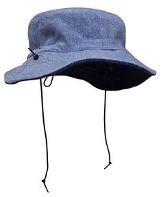 ed5ce334d36 N Ice Caps Kids Distressed Denim Reversible Adjustable Sun Protection Hat  Hats  Doesnotapply Dark