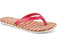 Snapper Thong Sandal, Pink / Cork, dynamic