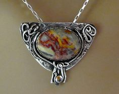 """Item 6076- """"Tenancious"""" 999 Fine Silver Handcrafted, sculpted & carved…"""