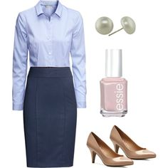 """""""[XX] Business Casual"""" by lzeplin on Polyvore - Women's professional outfit for work or rotations"""