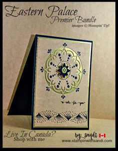 Masculine Cards Eastern Palace Premier Bundle by Sandi @ www.stampinwithsandi.com