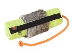 Firedog Futterdummy groß neongrün mit Kaninchenfellring   zum spielerischen Erlernen des Apportierens, unterstützt die Bindung an den Menschen, mit Kaninchenfell    21.00 CHF Products, Dog, People