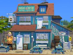Sims 4 House Building, Sims House Plans, Sims 4 Mods Clothes, Sims Mods, Habbo Hotel, Sims 4 Challenges, Sims 4 House Design, Architecture Building Design, Casas The Sims 4