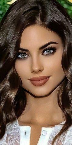 Most Beautiful Eyes, Stunning Eyes, Beautiful Gorgeous, Gorgeous Women, Girl Face, Woman Face, Beauté Blonde, Belle Silhouette, Model Face