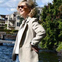 The Jasika Blazer pattern Closet Case Patterns Blazer Pattern, Put On, Custom Made, It Is Finished, Patterns, Coat, Jackets, Fashion, Block Prints