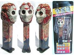 JASON fantasy PEZ Horror Movie Characters, Horror Films, Funny Horror, Monster Toys, Halloween Ii, Famous Monsters, Jason Voorhees, Gifts For My Boyfriend, Valley Of The Dolls