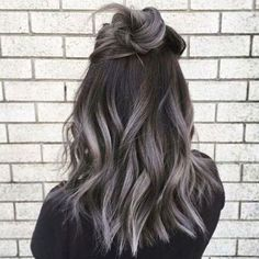 Grey Balayage Hair