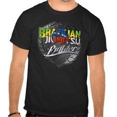 BJJ - Brazilian Jiu Jitsu Fighter T Shirts