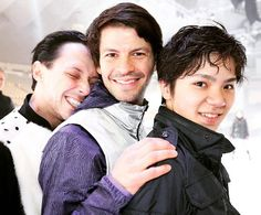 So excited for Fantasy on Ice tonight in Sapporo! @slambiel and Shoma-kun are excited too.  #fantasyonice2016
