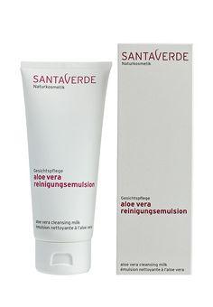 Santaverde очищающее Aloe Vera Cleansing для сухой, чувствительной и зрелой  кожи, 100мл