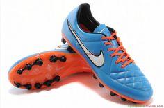b6f07b296 Buy UK Nike Tiempo Legend V AG - Blue Orange White Black Nike