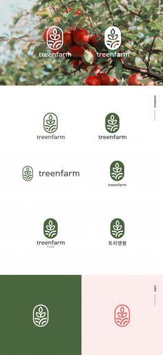 Brand Identity Design, Corporate Design, Branding Design, Logo Inspiration, Type Logo, Bussiness Card, Farm Logo, Organic Logo, Logo Concept