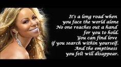 mariah carey hero lyrics - YouTube