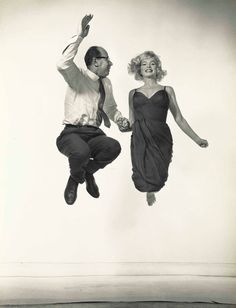 PHILIPPE HALSMAN (1906-1979) | Philippe Halsman and Marilyn Monroe, 1959 | 1950s, Photographs | Christie's Philippe Halsman, Image Sheet, Gelatin Silver Print, History Of Photography, Marilyn Monroe, Yahoo Images, View Image, Image Search, Ted