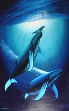 "ROBERT	 WYLAND  ""Spirit of Ocean Life"""