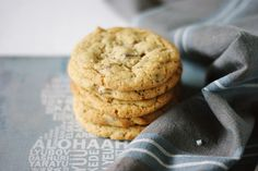 Melkesjokolade cookies med havsalt - MYFOODPASSION