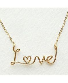 Love Necklaces | 11 romantic script necklaces to wear now