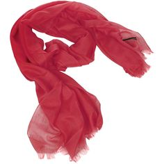 Sofia Cashmere Lightweight Cashmere Scarf - Fire ($192) ❤ liked on Polyvore featuring accessories, scarves, red, feather shawl, sofia cashmere, feather scarves, red scarves and light weight scarves