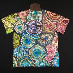 0db1cd5db264 Size Large Tie Dye Shirt • Pastel Geode Design