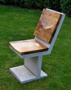 concrete and wood (claro walnut