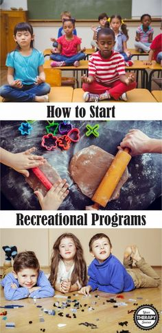 How to Start Recreational Programs Your Therapy Source