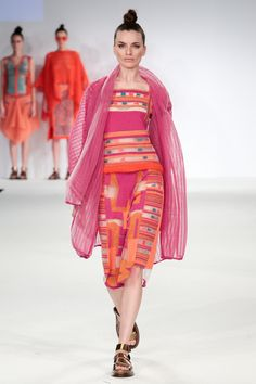 Kingston University student Camille Hardwick's collection on the catwalk at Graduate Fashion week 2014.  Find out more about studying Fashion at KU: http://www.kingston.ac.uk/undergraduate-course/fashion/?utm_source=Pinterest&utm_medium=Social&utm_campaign=KUPinterest&utm_content=Graduatefashionweekpics4July