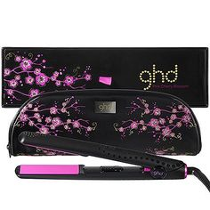 "ghd Gold™ Series Professional 1 Inch Styler - Pink Cherry Blossom by ghd PROFESSIONAL. Save 16 Off!. $189.99. What it is: A limited-edition ghd Gold™ Series Professional 1"" styler with vibrant pink plates and coordinating cherry blossom-print, heat-resistant styler bag.What it does: This pretty-in-pink styler, ideal for all hair types, allows you to create a number of looks that range from straight to tousled volume to the perfect curls. The unique ceramic technology allo..."