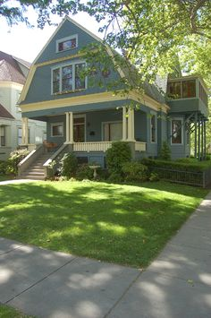 The historic 3rd Street 'Language House' in Chico, CA is now home to the Alpha Phi sorority of Chico State.