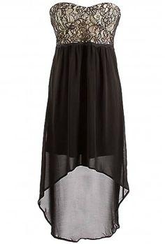 The Milan Evening High Low Dress $29.00