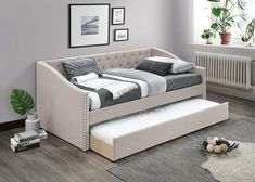 Bedroom Furniture Stores, Furniture Deals, Daybed Room, Trundle Daybed, Types Of Beds, Home Studio, Building A House, Couch, Living Room