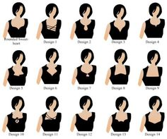 This shows blouse neckline styles. They are labeled rather obscurely other than the sweetheart one.