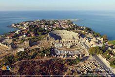 Tapınaklar, medeniyetler, hamamlar... Side'de geçmişe yolculuk yapabilirsin
