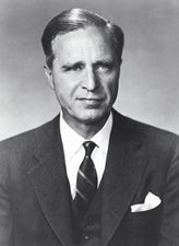 Prescott Sheldon Bush (May 15, 1895 – October 8, 1972) was an American banker and politician. He was a Wall Street executive banker and a United States Senator, representing Connecticut from 1952 until January 1963. He was the father of George H. W. Bush (41st President of the United States) and the grandfather of George W. Bush (43rd President of the United States) and Jeb Bush (43rd Governor of Florida).