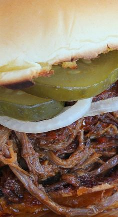 Game-Day Chopped Brisket BBQ Sandwiches