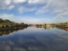 Alternate reality... . #prague #vltava #springtime #praha #lockdown #river #reflection #alternatereality #nofilter #endless #2020 Prague, Spring Time, Reflection, River, Outdoor, Outdoors, Outdoor Games, The Great Outdoors, Rivers