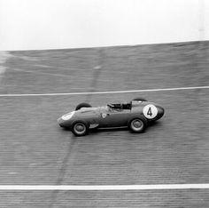 frenchcurious - Tony Brooks (Ferrari) vainqueur du Grand Prix...