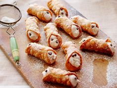 Homemade Cannoli recipe from Alex Guarnaschelli via Food Network