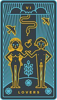 The meaning of The Lovers from the Universal Waite Tarot deck: Integrate two potential realities or let go of one of them. Golden Thread Tarot, The Chariot Tarot, Linestrider Tarot, The Lovers Tarot Card, Vintage Tarot Cards, Tarot Card Spreads, Tarot Major Arcana, Tarot Card Meanings, Tarot Decks
