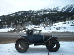 Car of the Week: 1930 Ford Model A - Old Cars Weekly Cooper Tires, Off Road Tires, Jeep Cj, Oral History, Old Fords, Lifted Ford Trucks, Abandoned Cars, Amazing Cars, Amazing Things