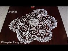 Simple Rangoli Border Designs, Rangoli Designs Latest, Rangoli Designs Flower, Free Hand Rangoli Design, Small Rangoli Design, Rangoli Patterns, Rangoli Designs With Dots, Rangoli Designs Diwali, New Mehndi Designs