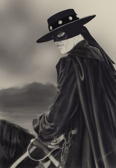 zorro | zorro by virtuaangel digital art drawings paintings people portraits ...
