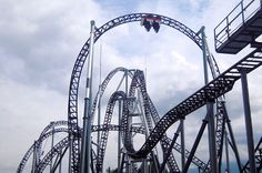 i want to ride the ten largest roller coasters in the world