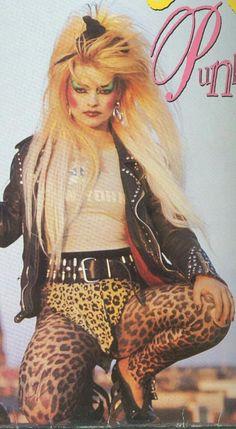 Nina Hagen, Mother of Punk 80s Rock Fashion, Hip Hop Fashion, Punk Fashion, Style Fashion, Lolita Fashion, Fashion Boots, Nina Hagen, Punk Makeup, 80s Punk