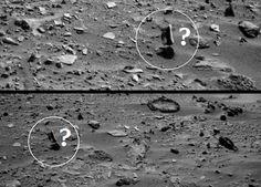 OVNI Hoje!…Rocha levitando em Marte! Esta vai ser difícil de explicar - OVNI Hoje!...