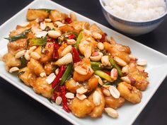 Asian: Kung Pao Fish With Dried Chilies and Sichuan Peppercorns