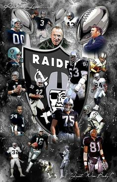 Image may contain: 2 people Raiders Vegas, Raiders Pics, Raiders Stuff, Nfl Raiders, Raiders Baby, Oakland Raiders Wallpapers, Oakland Raiders Images, Oakland Raiders Football, Oakland Athletics